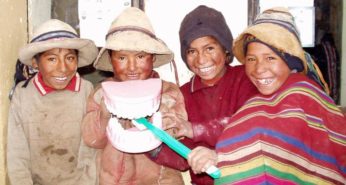 Dental volunteer Peru